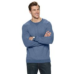 Big & Tall SONOMA Goods for Life™ Supersoft Double-Knit Crewneck Tee