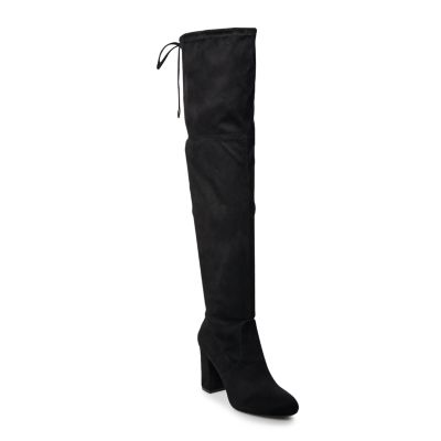SO® Ladybug Women's Over-The-Knee High Heel Boots