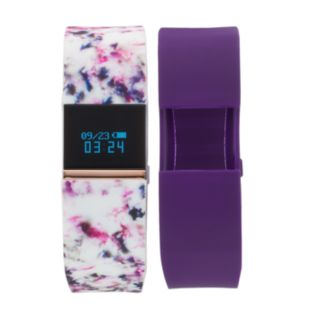 iFITNESS Women's Fitness Tracker & Interchangeable Band Set - IFT2886RG668-WPU