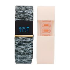 iFITNESS Women's Fitness Tracker & Interchangeable Band Set - IFT2676BK668-078