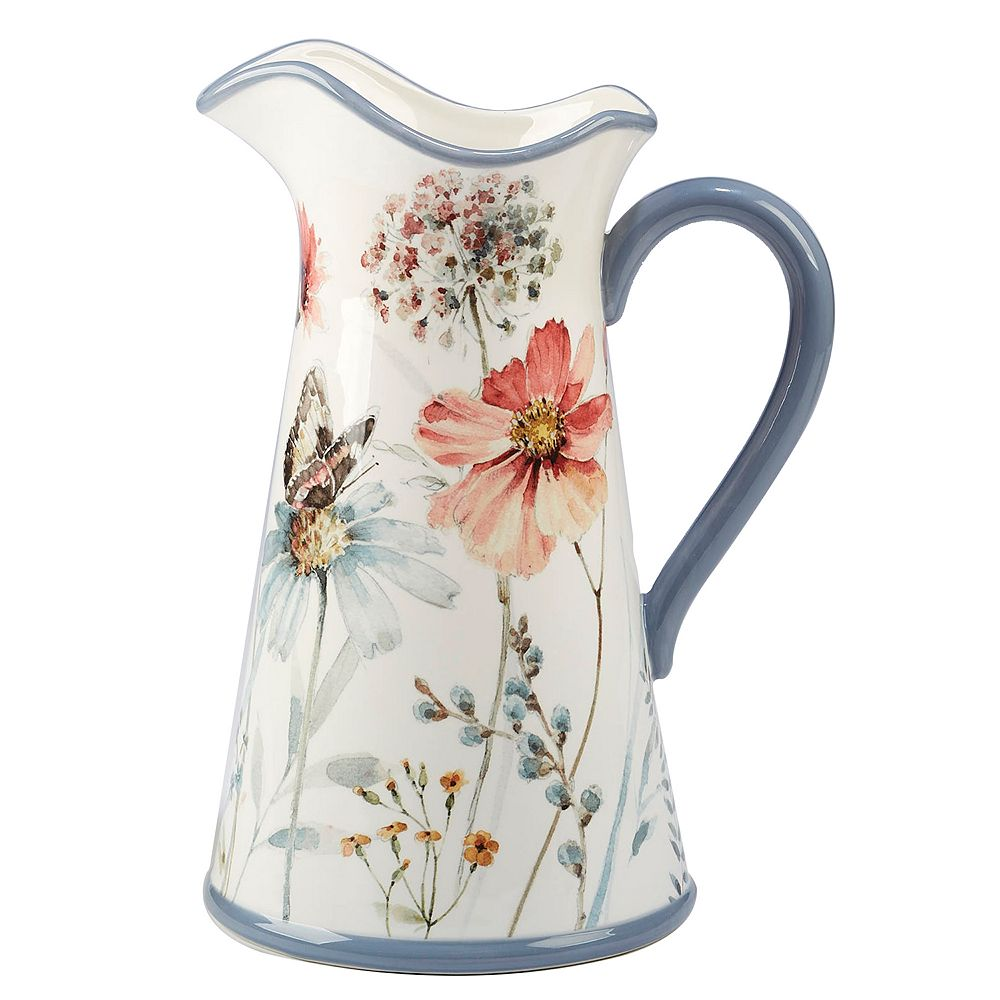 Certified International Country Weekend 3-qt. Pitcher