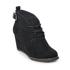 SO® Larch Women's Wedge Ankle Boots