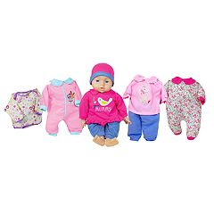 Lissi Dolls 18-in. Talking Baby Doll Set