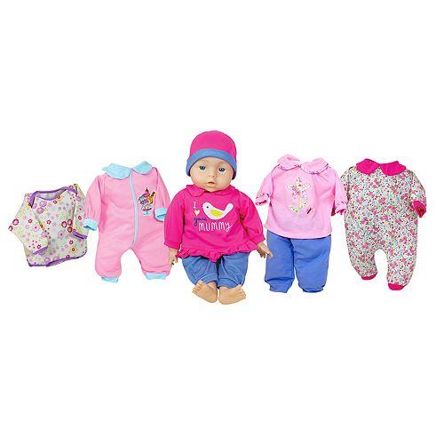 Lissi Dolls 18-in. Talking Baby Doll Set