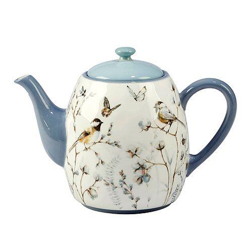 Certified International Country Weekend 40-oz. Teapot
