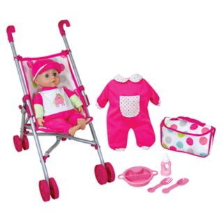 Lissi Dolls Umbrella Stroller Set