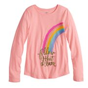 Girls 7-16 & Plus Size SO® Long Sleeve Graphic Tee