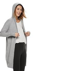 Plus Size POPSUGAR Hooded Coatigan