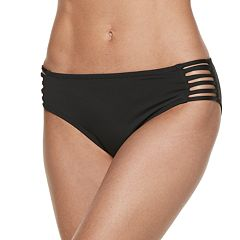 Women's Apt. 9® Hip Minimizer Strappy Bikini Bottoms