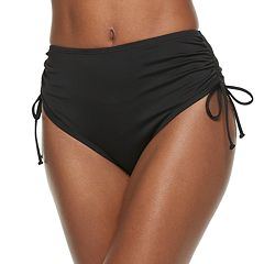 Women's Apt. 9® High-Waisted Adjustable Bikini Bottoms