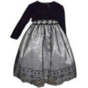 Toddler Girl Blueberi Boulevard Embellished Tulle Dress & Shrug Set