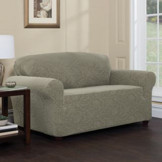 Jeffrey Home Stretch Sensations Stretch Floral Sofa Slipcover