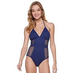 Women's Apt. 9® Crochet One-Piece Swimsuit