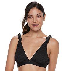 Women's Apt.9® Tie-Shoulder Bikini Top