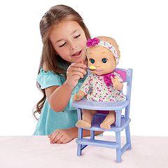 New Adventures Little Darlings 11-in. Baby Doll & Feeding Playtime Set