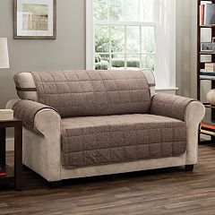 Jeffrey Home Tyler Solid XL Sofa Furniture Cover Slipcover