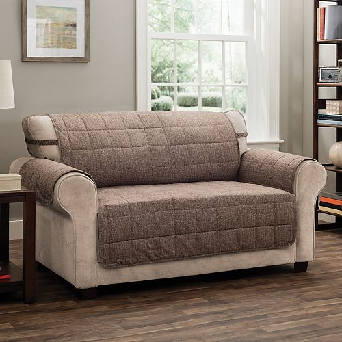 Peachy Jeffrey Home Tyler Solid Xl Sofa Furniture Cover Slipcover Gmtry Best Dining Table And Chair Ideas Images Gmtryco