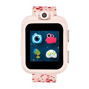 iTouch Playzoom Kids' Red Hearts Smart Watch - IPZ13077R06A-BPR