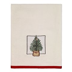 Avanti Farmhouse Holiday Bath Towel