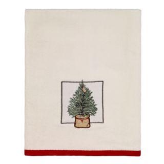 Avanti Farmhouse Holiday Bath Towel