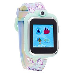 iTouch Kids' Playzoom Rainbow & Unicorn Smart Watch - IPZ13072S06A-TDP