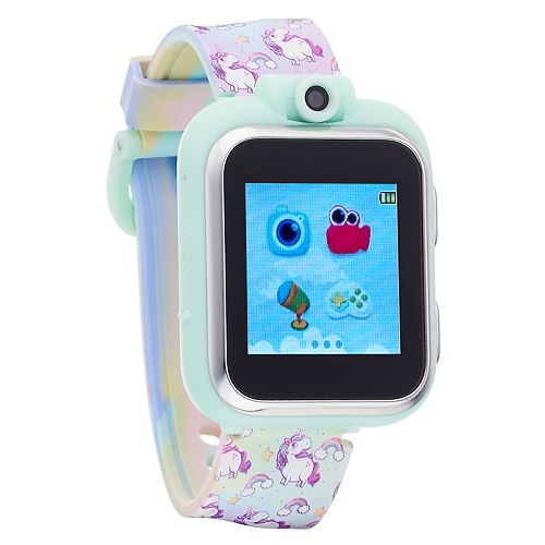iTouch Playzoom Kids' Rainbow & Unicorn Smart Watch - IPZ13072S06A-TDP