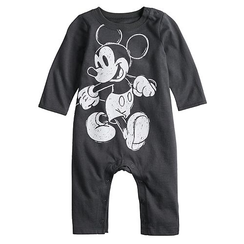 5131e03ee30d Disney s Mickey Mouse Baby Girl Coverall by Jumping Beans®