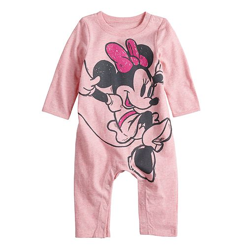 4b9033c12 Disney's Minnie Mouse Baby Girl Coverall by Jumping Beans®