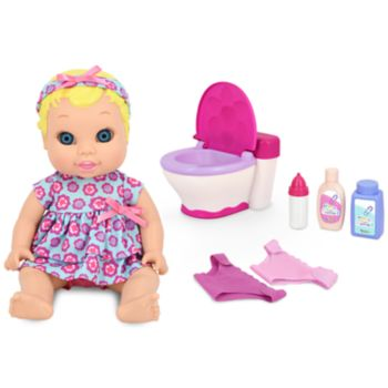 New Adventures Little Darling It's My Potty 11-in. Doll Set
