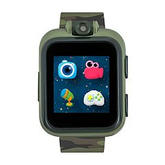 iTouch Kids' Playzoom Camouflage Smart Watch - IPZ03480S06A-DOP