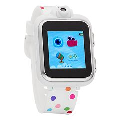 iTouch Kids' Playzoom Polka Dot Smart Watch - IPZ13349S06A-WPD