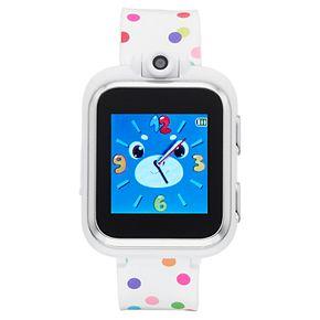 iTouch Kids' Playzoom Polka Dot Smart Watch - IPZ13349S06A-WPD