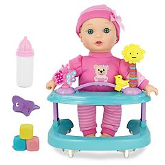 New Adventures Baby Magic 11-in. Baby Doll & Playcenter Set