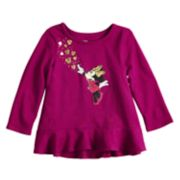 Disney's Minnie Mouse Baby Girl Hi-Low Peplum Top By Jumping Beans®