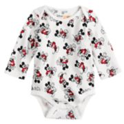 Disney's Baby Girl Mickey Mouse Graphic Softest Bodysuit By Jumping Beans®