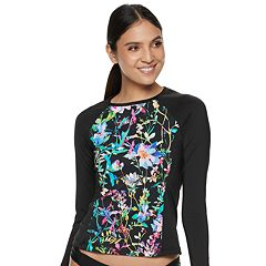 Women's Apt. 9® Tropical Rash Guard