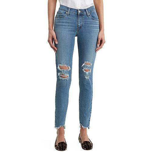 Women's Levi's® Curvy Mid-Rise Skinny Jeans