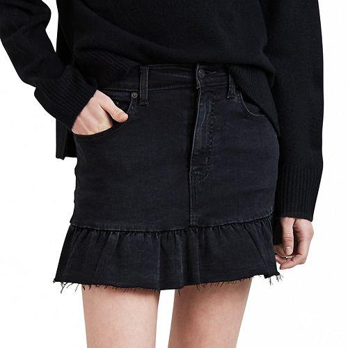 Women's Levi's Ruffle Hem Denim Skirt