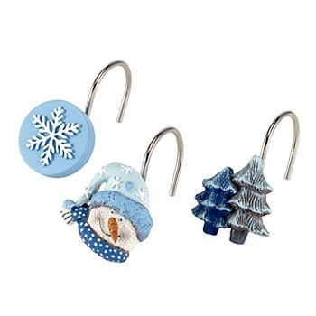 Avanti Let It Snow Shower Curtain Hooks