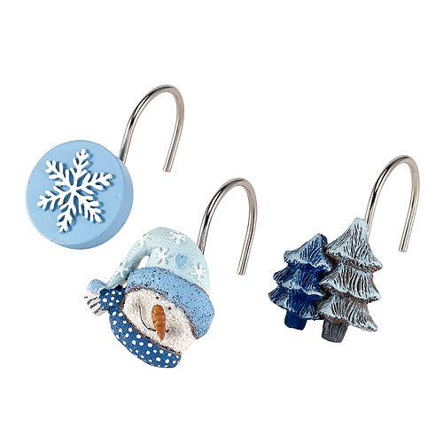 Avanti Let it Snow Shower Curtain Hooks