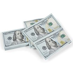 Fred Filthy Rich $100 Paper Napkins 12-Pack