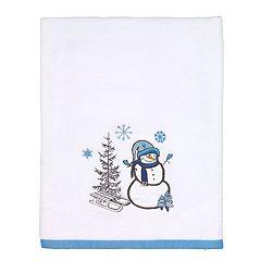 Avanti Let it Snow Bath Towel