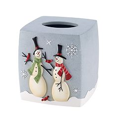 Avanti Tall Snowmen Tissue Cover