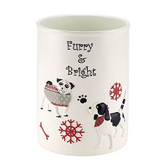 Avanti Happy Paw-lidays Wastebasket