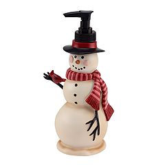 Avanti Tall Snowman Soap Pump