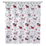 Avanti Happy Paw-lidays Shower Curtain