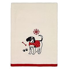 Avanti Happy Paw-lidays Bath Towel