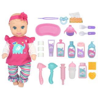 New Adventures Little Darlings 16-in. Baby Doll and Check Up Set