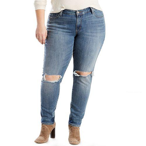 a31b3b7ad1 Plus Size Levi s® 711 Skinny Jeans