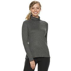 Women's Apt. 9® Ribbed Turtleneck Sweater